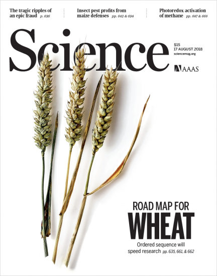Shifting the limits in wheat research and breeding using a fully annotated reference genome